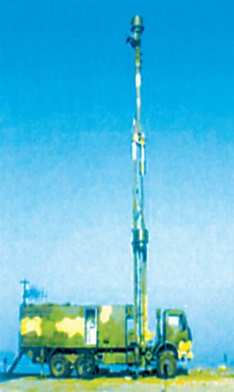 中国新型反隐身飞机雷达