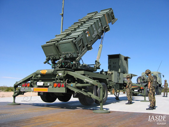 Data Figure: Japan Self-Defense Force Patriot -2 air defense missile system