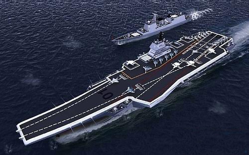 美国惊呼:情报显示 中国造的是两艘核航母