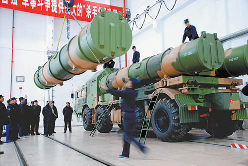 go through the testing of missile loading Figure missiles made in the new Eagle -62 type coastal defense missile