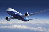 波音787梦想客机飞行示意图