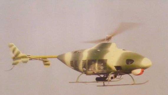 资料图:国产无人直升机