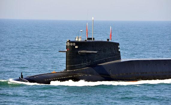 中国海军092级战略核潜艇