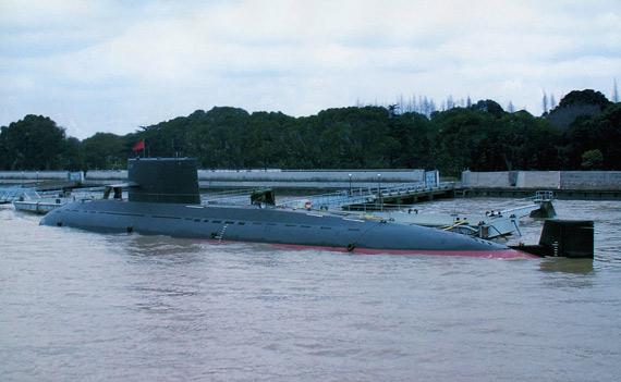 美媒体称中国可能在造039C改进型元级潜艇(图)