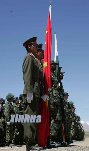 中国巴基斯坦军队今夏将举行反恐联合训练(图)