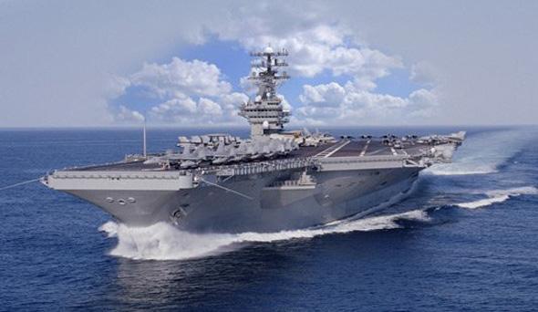 美国海军CVN-78航母效果图。