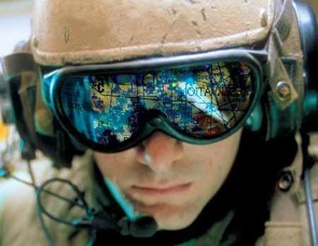 """2003年伊拉克战争爆发以来,美军地面部队的""""网络化""""程度逐年提高,伊拉克战争也被称为第一场""""连线战争""""图片来源:新华网"""