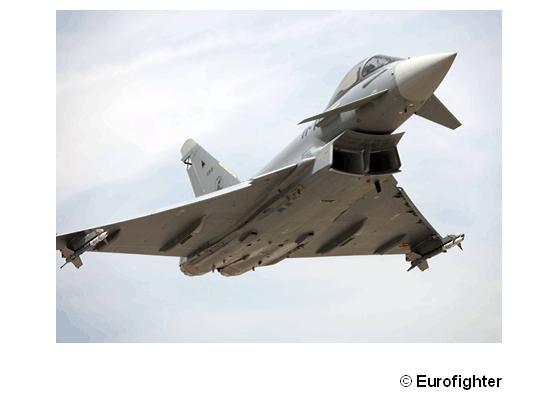 """欧洲战斗机公司""""台风""""Tranche3B战斗机"""