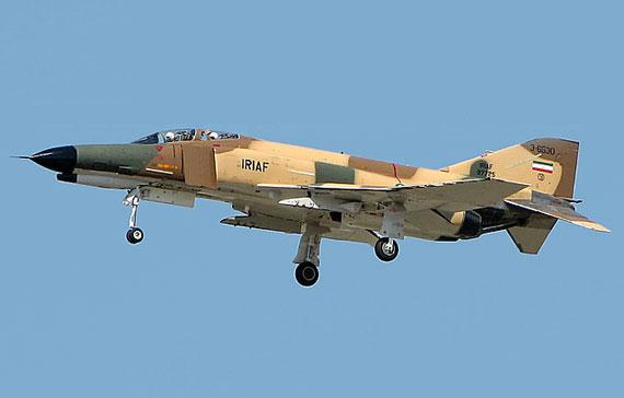 资料图:伊朗空军列装的美制F-4战机