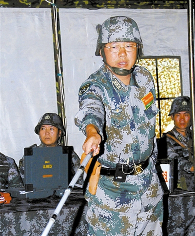 red square commander of Chengdu Military Region, a division chief of staff