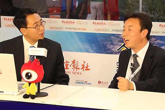 中航工业陕西飞机工业(集团)有限公司董事长、总经理李广兴接收专访