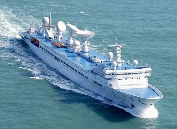 最能代表中国造船水平的远望系列