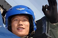 八一飞行表演队飞行员姜金泉少校