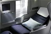 英航商务客舱提供完全平躺睡床