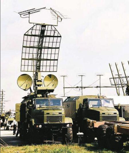 资料图:乌克兰铠甲无源雷达
