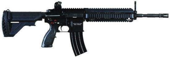 资料图:德国产HK416步枪