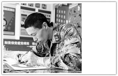 老兵邓士兵的十年感恩路――解读北空某通信总站三级军士长邓士兵的爱党情怀刘