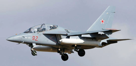 Russian Yak-130 trainer aircraft
