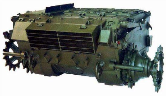 乌克兰6TD-2型对置二冲程发动机