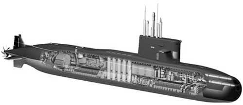 俄罗斯准备向印度出口阿穆尔级潜艇(图)