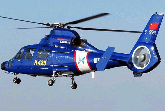 资料图:哈飞研制的H425直升机。