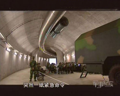 U.S. media said that China's Second Artillery built up to 5000 km of underground tunnels, used to store and transport nuclear warheads.