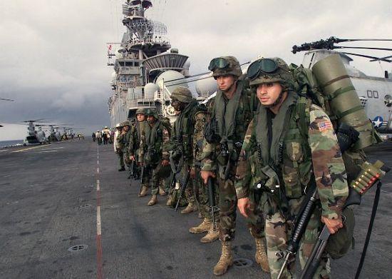 美国需要大量军费开支维持在全球的军事力量