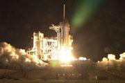 奋进号STS123升空