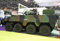 依维柯公司SuperAV 8×8轮式装甲车