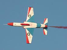 巴基斯坦K-8教练机飞行表演吸引现场观众