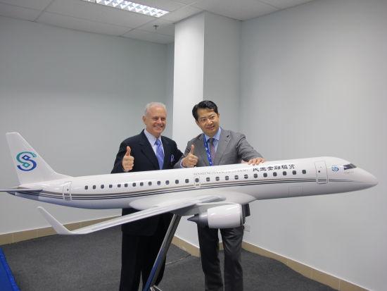 巴西航空工业公司宣布与中国民生金融租赁股份有限公司签订三架世袭1000确认订单。
