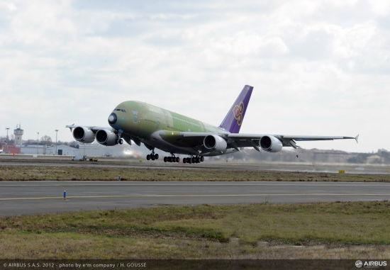 380飞机首飞成功