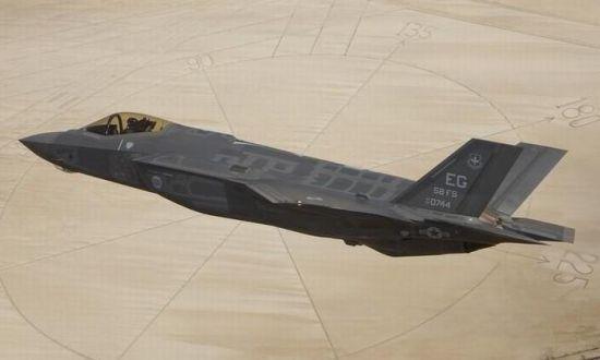 资料图:美国F-35隐形战机。