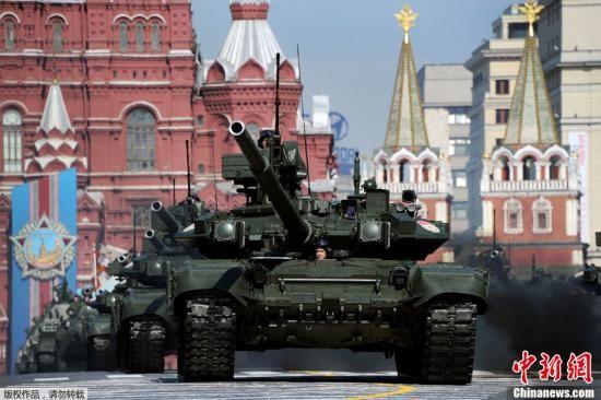 当地时间5月6日,莫斯科红场上举行了胜利日阅兵前