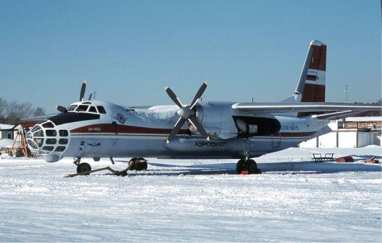 资料图:俄罗斯安-30飞机。