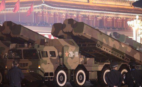 资料图:中国CJ-10陆基巡航导弹