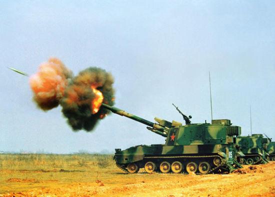 中国PLZ-45型自行火炮
