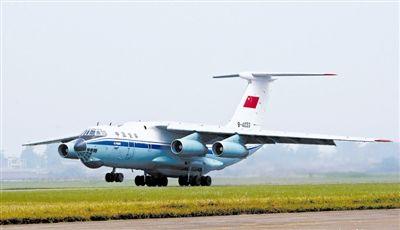 空军大型运输机执行任务。