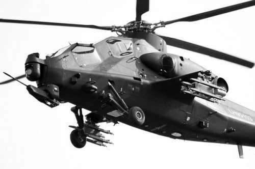 资料图:武直-10型攻击直升机已进入中国陆航服役
