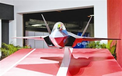 珠海航展展出中国先进战斗机概念模型