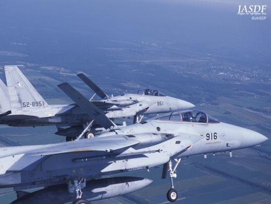日本空军装备的F-15J战机