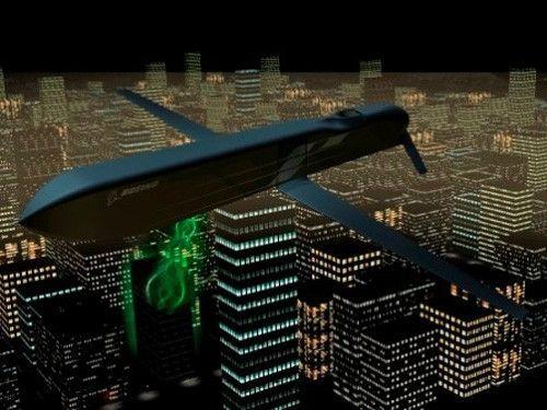 """波音公司开发的""""反电子设备高功率微波先进导弹项目""""(CHAMP)"""