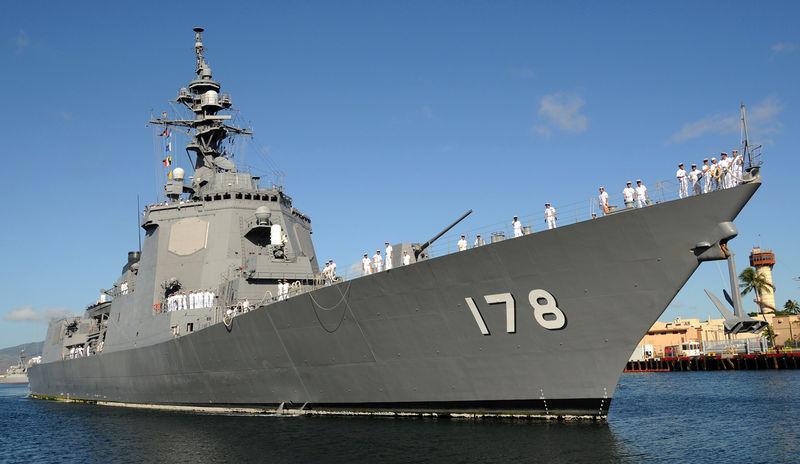 日本海上自卫队爱宕型宙斯盾舰