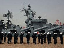 中俄海上联演结束俄军战舰启程回国