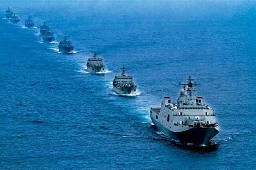 南海舰队登陆演习,外交部称中方已做好准备应对菲扩大黄岩岛事态