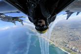 百年灵喷气机队飞越以色列