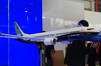波音展示新一代737MAX模型