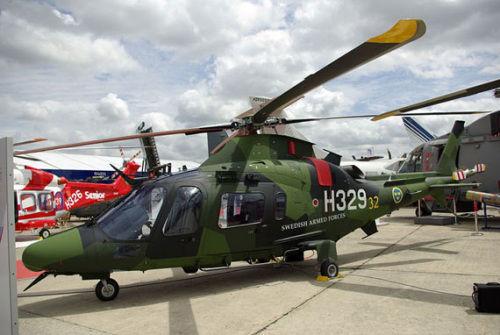 资料图:AW109直升机