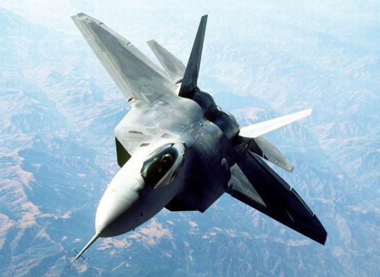 资料图:美军F-22隐形战斗机