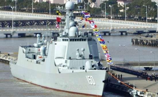 中国东海舰队最新旗舰150长春号驱逐舰